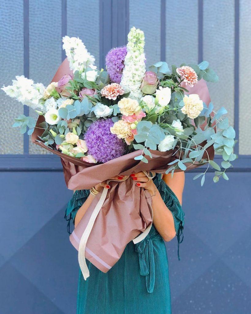 Misk çiçek aranjmanı