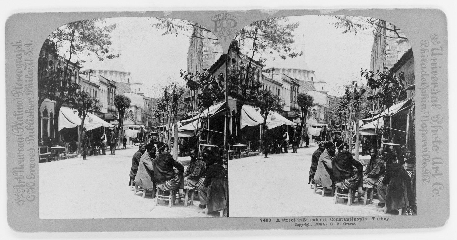 A street in Stamboul, Constantinople of Edmondo De Amicis