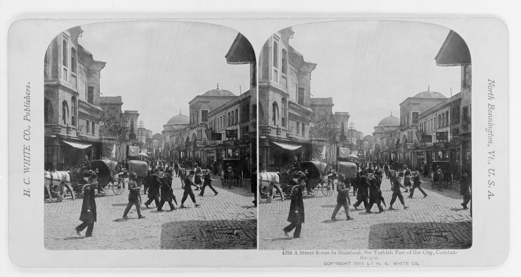 İstanbul'dan Bir Sokak Constantinople of Edmondo De Amicis