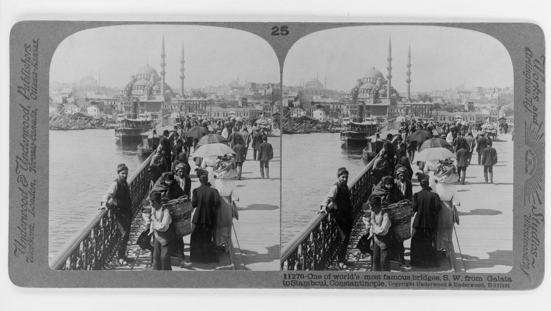 Galata Köprüsü Constantinople of Edmondo De Amicis