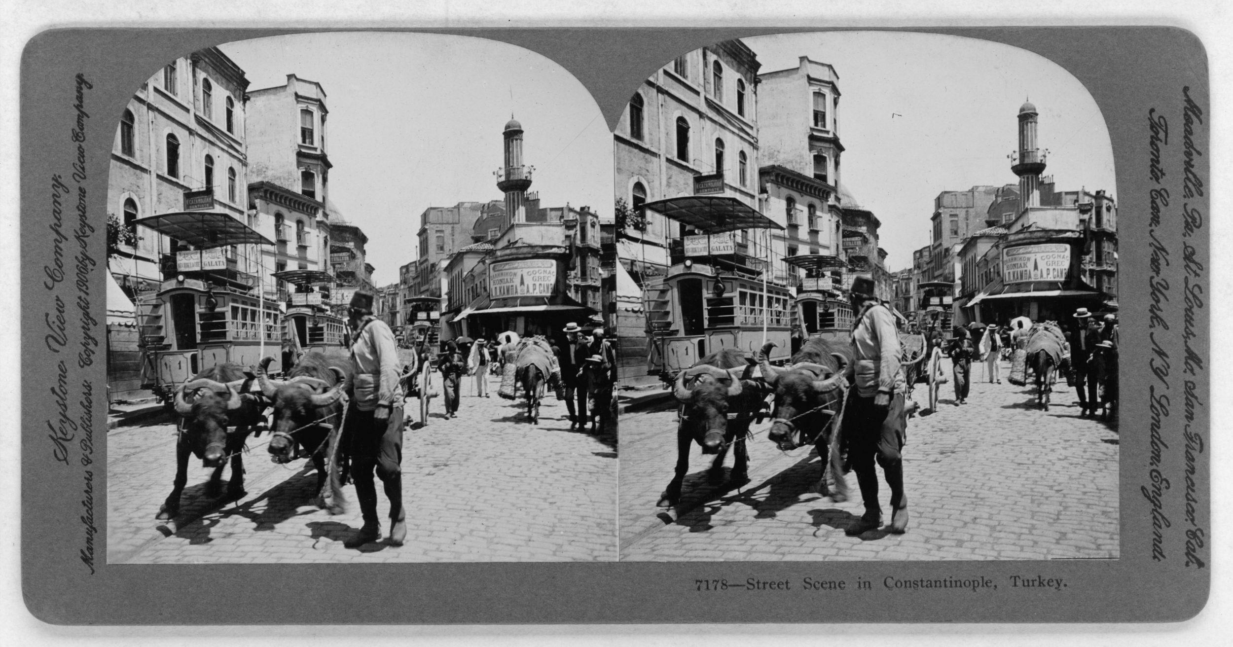Street scene Constantinople of Edmondo De Amicis
