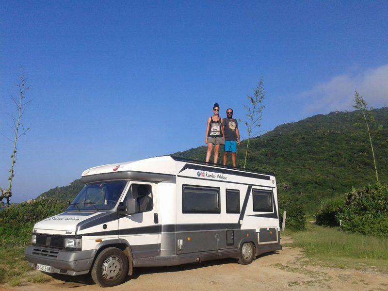 Latin Amerika America karavan motorhome